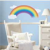 Rainbow Vinyl Wall Stickers Large
