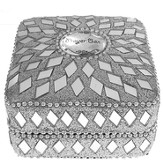 Prayer Box, Square, Silver