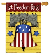 Let Freedom Ring Flag, Large