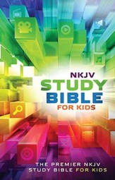 NKJV Study Bible for Kids, hardcover