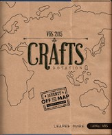 Journey Off the Map VBS 2015: Crafts Rotation Leader Guide