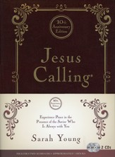 Jesus Calling 10th Anniversary Custom Edition with 2 Bonus Audio CDs