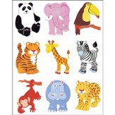Scripture Press 2s & 3s Jungle Animals Stickers, Spring 2014