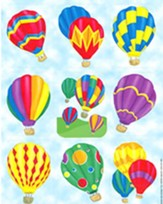 Scripture Press Hot Air Balloon Stickers, Winter 2014-5