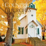 Country Churches, 2015 Wall Calendar