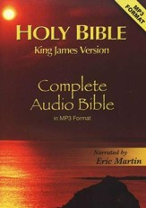 KJV Complete Bible on 2 CD's (MP3)