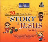 CEV Story of Jesus for Kid's on 4 CD's Including Songs