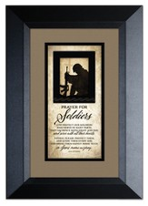 Prayer For Our Soldiers Framed Art