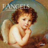 Angels, 2015 Mini Wall Calendar