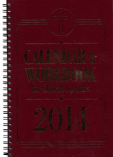 Calendar & Workbook for Church Leaders 2014