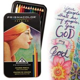 Prisma Primier Colored Pencils Tin (Set of 12 Colors)