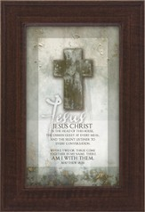 Jesus Christ is the Head of This House Framed Print