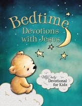Bedtime Devotions with Jesus: My Daily Devotional for Kids-Board Book