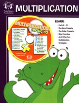 Multiplication Activity Book & CD