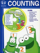 Counting Activity Book & CD