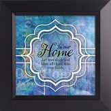 In Our Home, Let Love Abide Framed Art