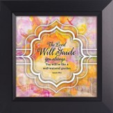 The Lord Will Guide You Always Framed Art