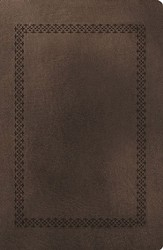NKJV Giant-Print Personal-Size Reference Bible, Imitation leather, rich stone