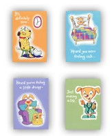 Get Well Cards For Kids, Box of 12