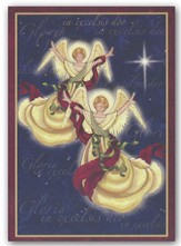 Angels We Have Heard Christmas Cards