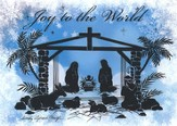 Manger Scene Deluxe Box Christmas Cards, Box of 20
