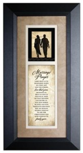 Marriage Prayer Framed Art