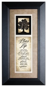 Plans For Your Life Framed Art