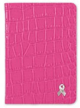Pink Ribbon Pocket Journal