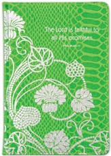 The Lord Is Faithful Journal, Green