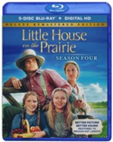 Little House on the Prairie: Season 4, Blu-ray DVD--Deluxe Remastered Edition