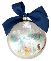 An Angel Of the Lord Appeared To Them, Luke 2:9 Ornament