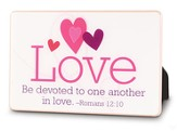 Be Devoted to One Another in Love--Ceramic Plaque
