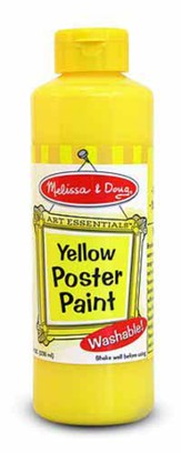 Yellow Poster Paint, 8 oz.