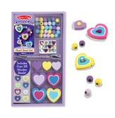 Hearts Bead Set, Decorate Your Own