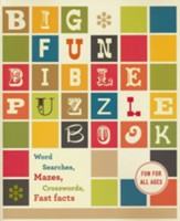 Big Fun Bible Puzzle Book - Slightly Imperfect