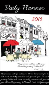 2014 Daily Planner, My Presence Will Go With You, Café