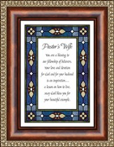 Pastor's Wife Framed Print