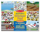 Reusable Sticker Pad, Vehicles