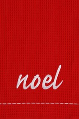Noel, Christmas Decorative Towel