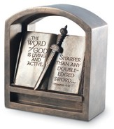 Word of God Bookend Plaque