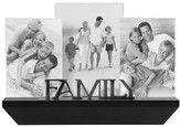 Family Shelf Photo Frame