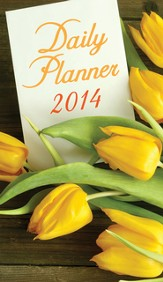 2014 Daily Planner, This Is the Day, Tulips