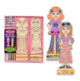 Wooden Fashion Dolls, Decorate Your Own