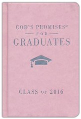 NKJV God's Promises for Graduates: Class of 2016, Pink - Slightly Imperfect