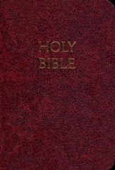 NABRE Fireside Study Bible - Burgundy