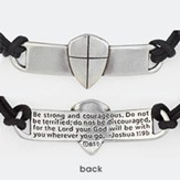 Shield Of Faith Adjustable Bracelet