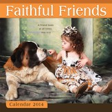 2014 Wall Calendar, Faithful Friends