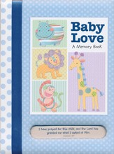 Baby Love Memory Book, Boy
