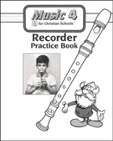 BJU Music Grade 4 Recorder Practice Book