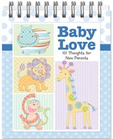 Baby Love Easel Book, 101 Thoughts for New Parents, Boy